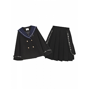 Magical Spell Short Coat and Short Skirt Set by Mori Tribe