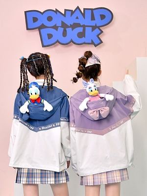 Disney Authorized Donald Duck Hooded Coat by Mori Tribe