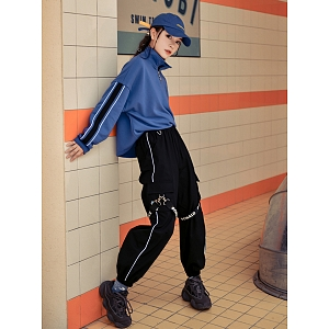 Disney Authorized Donald Duck Cool Girl Jogger Pants by Mori Tribe