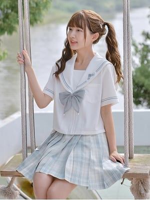Disney Authorized Cinderella Sailor Collar Top by Mori Tribe