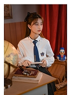 Disney Authorized Donald Duck JK Uniform Set Shirt / Skirt by Mori Tribe
