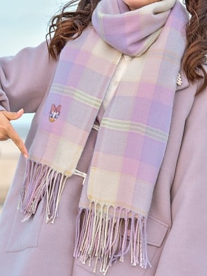 Disney Authorized Donald Duck Plaid Scarf by Mori Tribe