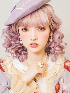 Wavy Lolita Medium-length Synthetic Wig by Vanyar