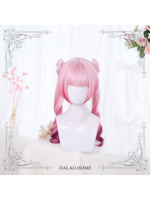 Little Butterfly Pigtails Ombre Synthetic Wig by Dalao Home