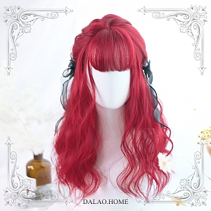 Miki Wavy Shoulder-length Synthetic Wig by Dalao Home