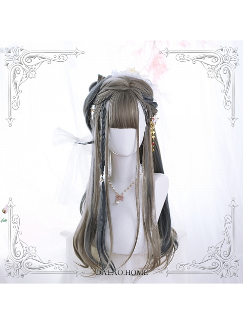 Bella Inner Buckle Long Synthetic Wig by Dalao Home