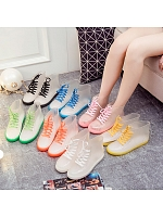 7 Colors Transparent Water Proof Boots
