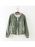 Cute Embroidered Jacket by June's Seaweed