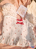 Summer Country Sweet Cropped Top Off-shoulder by Milk Tooth Studio