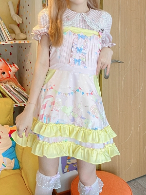 Cute Strap Dress by Milk Tooth Studio