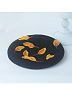 3-D Yellow Fallen Leaves Woollen Beret By SOSO