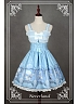 Custom Size Available Corset Lacing Bowknot Decorated JSK - Chrono Guardian by Souffle Song