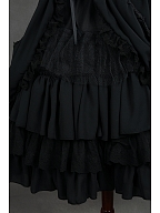 Gorgeous Knee Length Surface Layer Lolita Petticoat - by Souffle Song