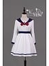 Snow White Long Sleeves Waistbelt Lolita OP Dress - HANA