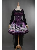 Elegant Bowknot Decorated Lace Up Lolita JSK - Puppet Doll by Rose's Valley