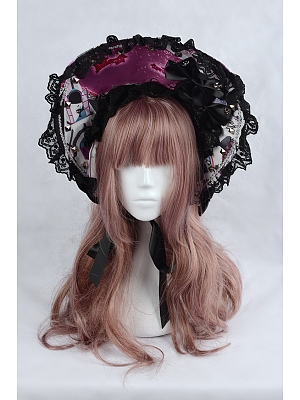 Rose's Valley Lolita Puppet Doll Collection Matching Bonnet
