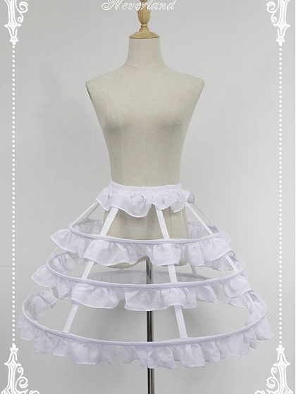 Summer Chiffon Petticoat - by Souffle Song