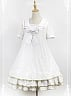 Sailor Collar Three Layers Skirt Hemline Casual Lolita OP - Star Signs Kindergarten by Souffle Song