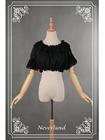 Hime Sleeves Ruffle Collar Inner Wear Lolita Blouse by Souffle Song