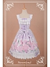 Lace Decorated at Bust Voile Overlay Lolita JSK - Scented Hydrangea by Souffle Song