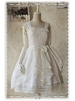 Rose Funeral Organza Gorgeous Lolita JSK (3 Colors available) -  by Infanta