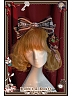 Rabbit and Poker Printed Lolita Headbow KC - Rabbit & Poker by Infanta