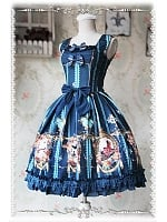 Swan Lake  Skirt Thick Cotton Lolita JSK - by Infanta