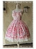 The Strawberry Kitchen Maid Cotton Lolita JSK - by Infanta