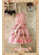 ON SALE-Love and Canary Sweet Lolita JSK with Lace and Bow Decoration - by Infanta