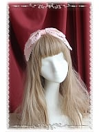 Love and Canary Themed Printed Lolita Headbow KC - Love and Canary by Infanta