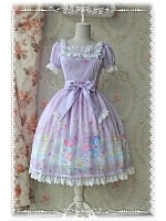 Sweet Style Summer Chiffon OP  - Sleeping Bear by Infanta