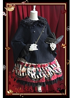 Dark Magic Party Themed Lolita Cape - Dark Magic Party by Infanta
