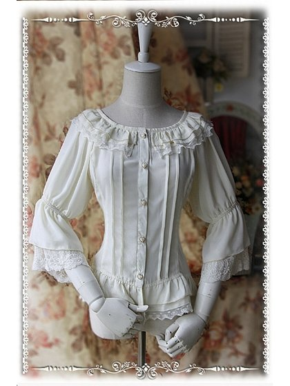 Fairy Dance Chiffon Blouse - by Infanta