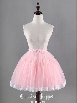 Sweet Bell Shape Tulle Ball Gown Petticoat - by Classical Puppets
