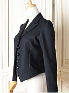 Black Slim Fit Woollen Suit by the 69th Department