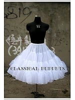 Gothic Lolita Ball Gown Petticoat - by Classical Puppets