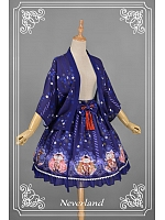 Sweet Loose Beckoning Cat Themed Coat and Skirt Special Set - Beckoning Cat by Souffle Song