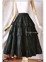 A-line Tiered Petticoat - by Surfacespell