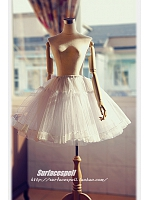 A-line Pleated Ball Gown Skirt - by Surfacespell