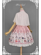 Sweet Qi Lolita Special Set ( JSK&Cape )- Chinese Walking Cat by Souffle Song