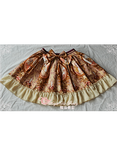 Sweet Printed Lolita Mini Skirt - by Magic Tea Party