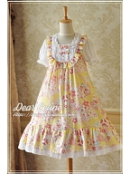 Sweet Style Summer OP Design With Ruffle Trimmings On The Bust - by Dear Celine