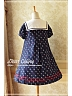 Sailor Style Collar Short Puff Sleeves Lolita OP - by Dear Celine