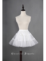36cm A-line Short Tulle Lolita Petticoat - by Classical Puppets