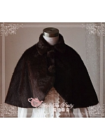 Lapel Collar Cape for Winter - by Magic Tea Party