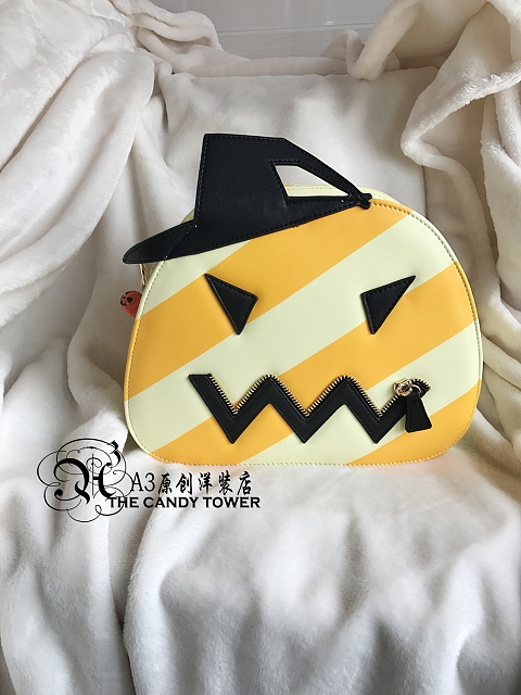 Halloween Pumpkin Bag by A3