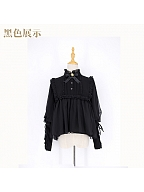 Lamb Sleeves Blouse by Advertising Balloon