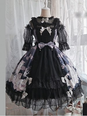 Unicorn Lolita Dress JSK by Advertising Balloon