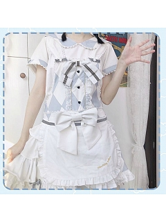 Alice Sax Lolita Overall Dress by Advertising Balloon