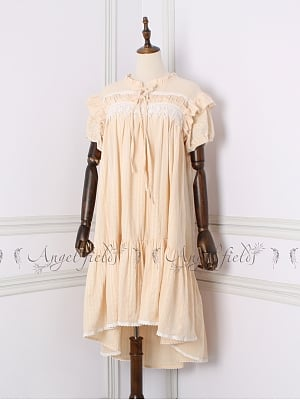 Antique Dolldress Nightgown Cotton Pajamas Dress by Angel fields